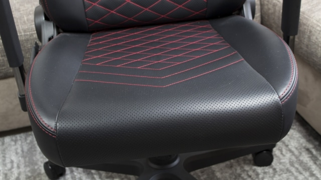 The comfortable seat of the noble chair ICON