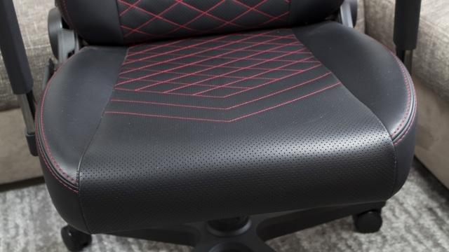 Die bequeme Sitzfläche des noblechairs ICON
