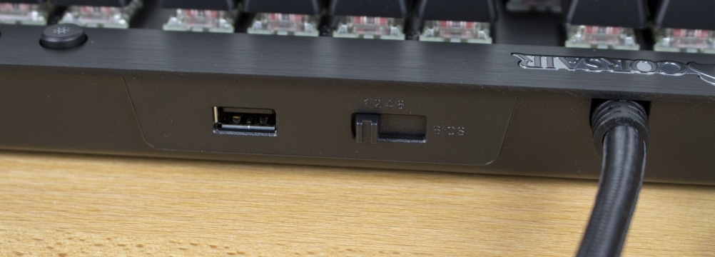 USB-Hub und BIOS-Switch