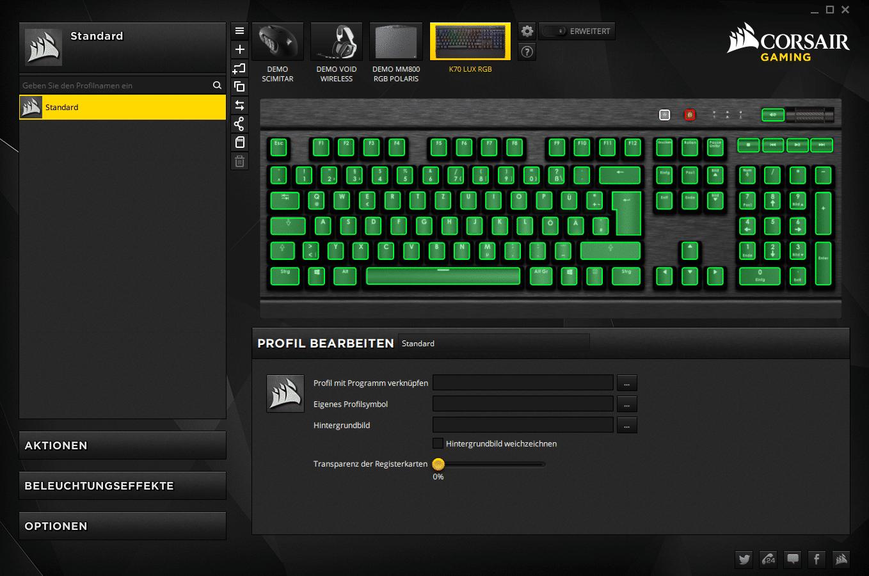 corsair k70 lux rgb test die perfekte gaming tastatur. Black Bedroom Furniture Sets. Home Design Ideas
