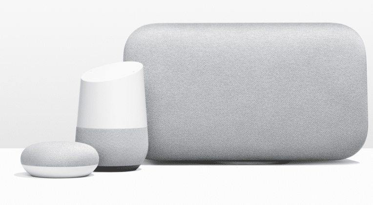 Bild von Google Home Max und Mini: Konkurrenz für Amazons Echo