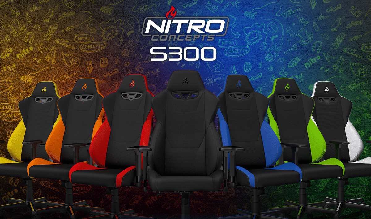 Photo of Nitro Concepts S300: Neuer Gaming-Stuhl in 7 Farbkombinationen