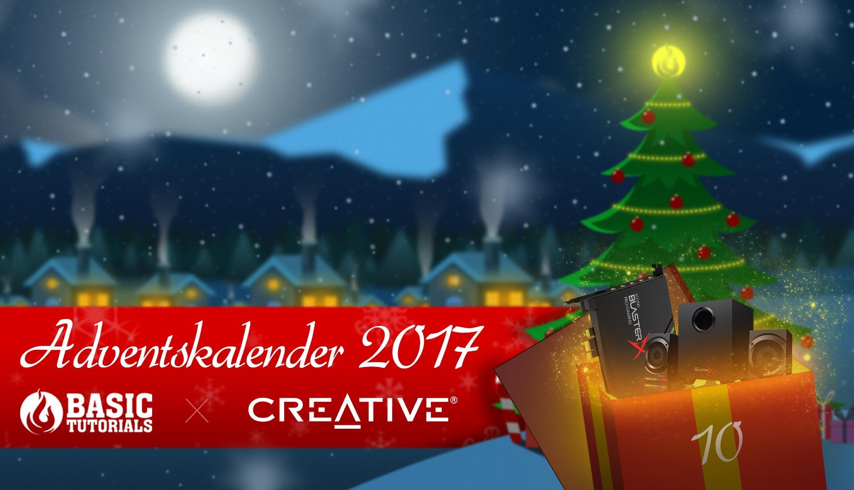 Bild von Adventskalender Türchen 10: Creative Sound BlasterX Kratos S5 & AE-5