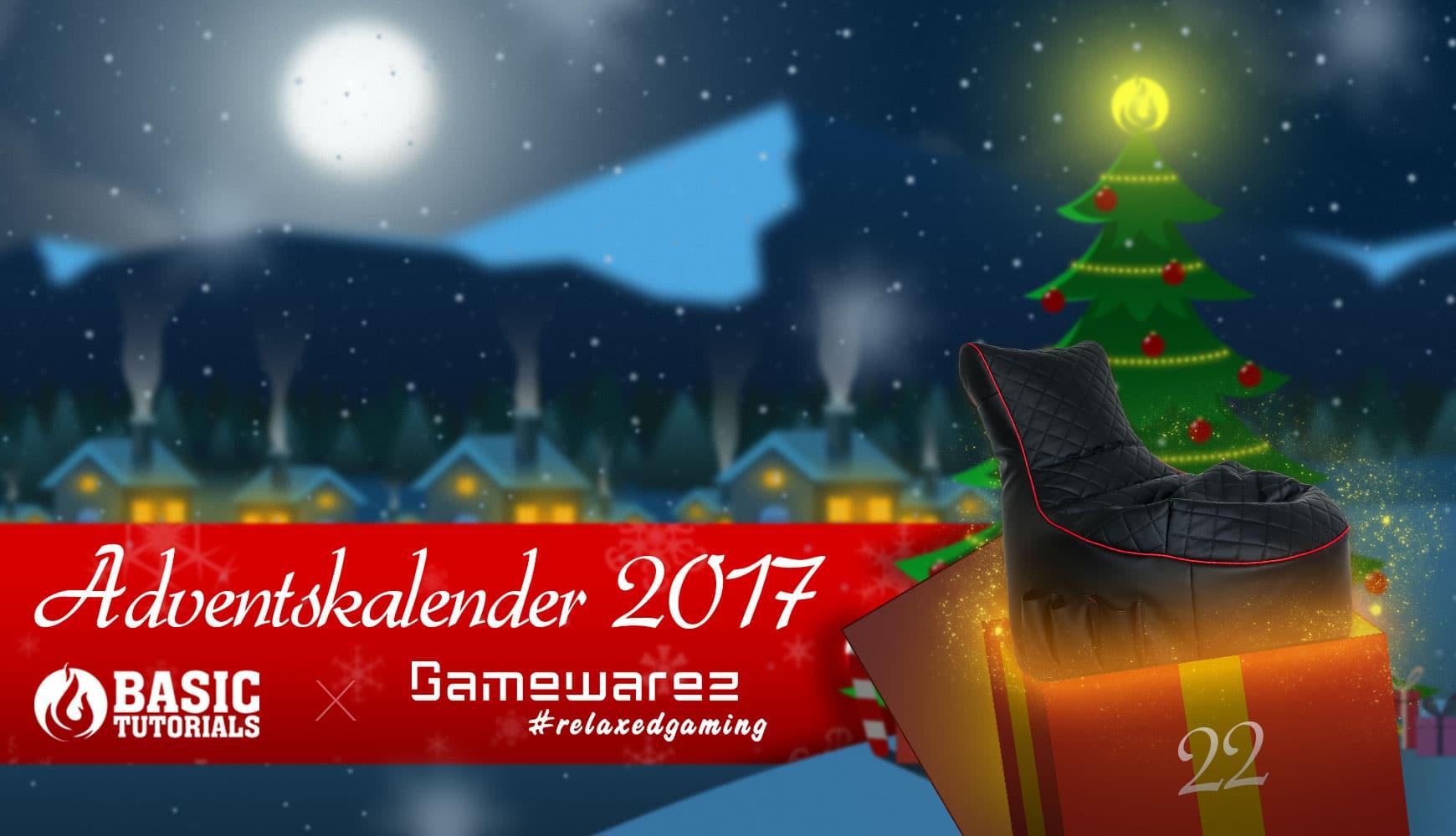 """Bild von Adventskalender Türchen 22: Gamewarez """"Crimson Hurricane""""-Gamingsessel"""