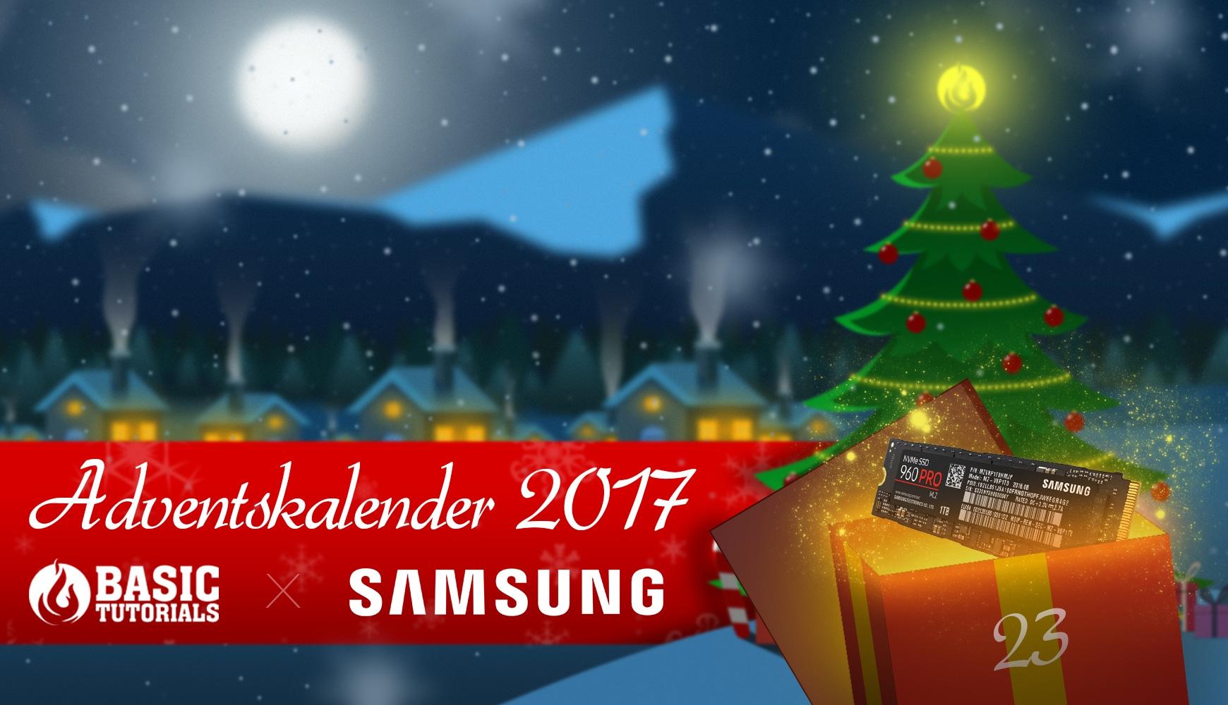 Photo of Adventskalender Türchen 23: Samsung 960 PRO 512 GB SSD