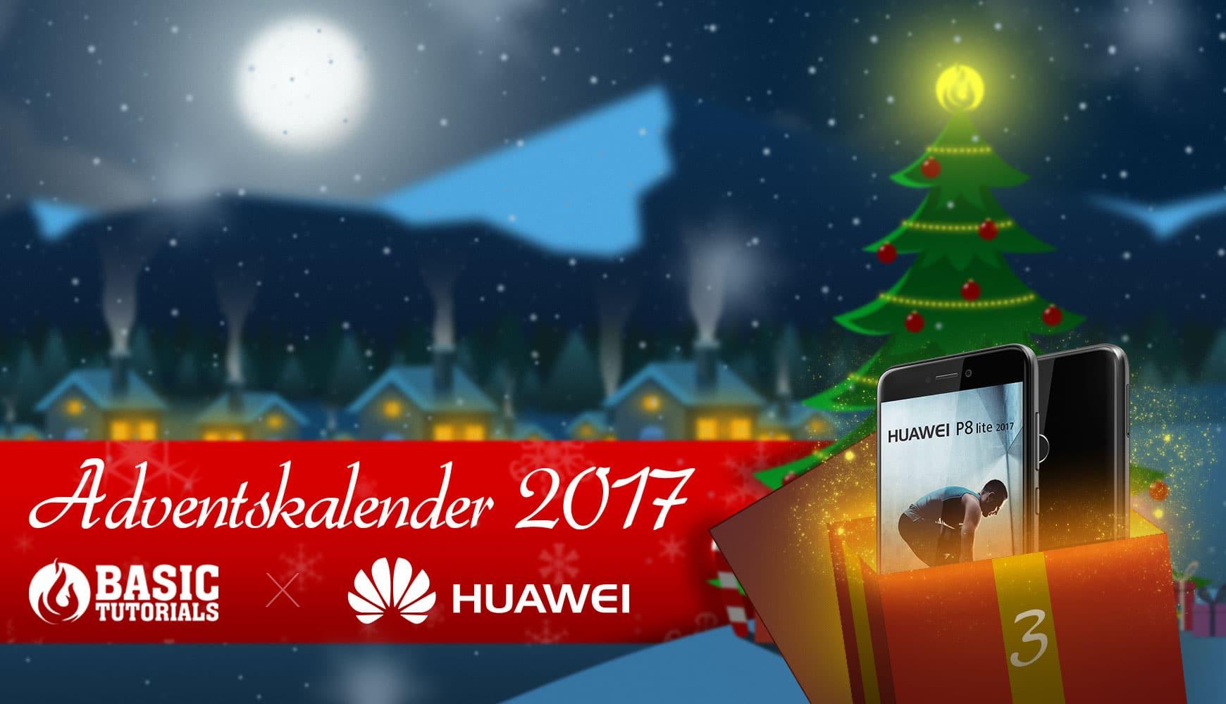 Photo of Adventskalender Türchen 3: Huawei P8 Lite 2017