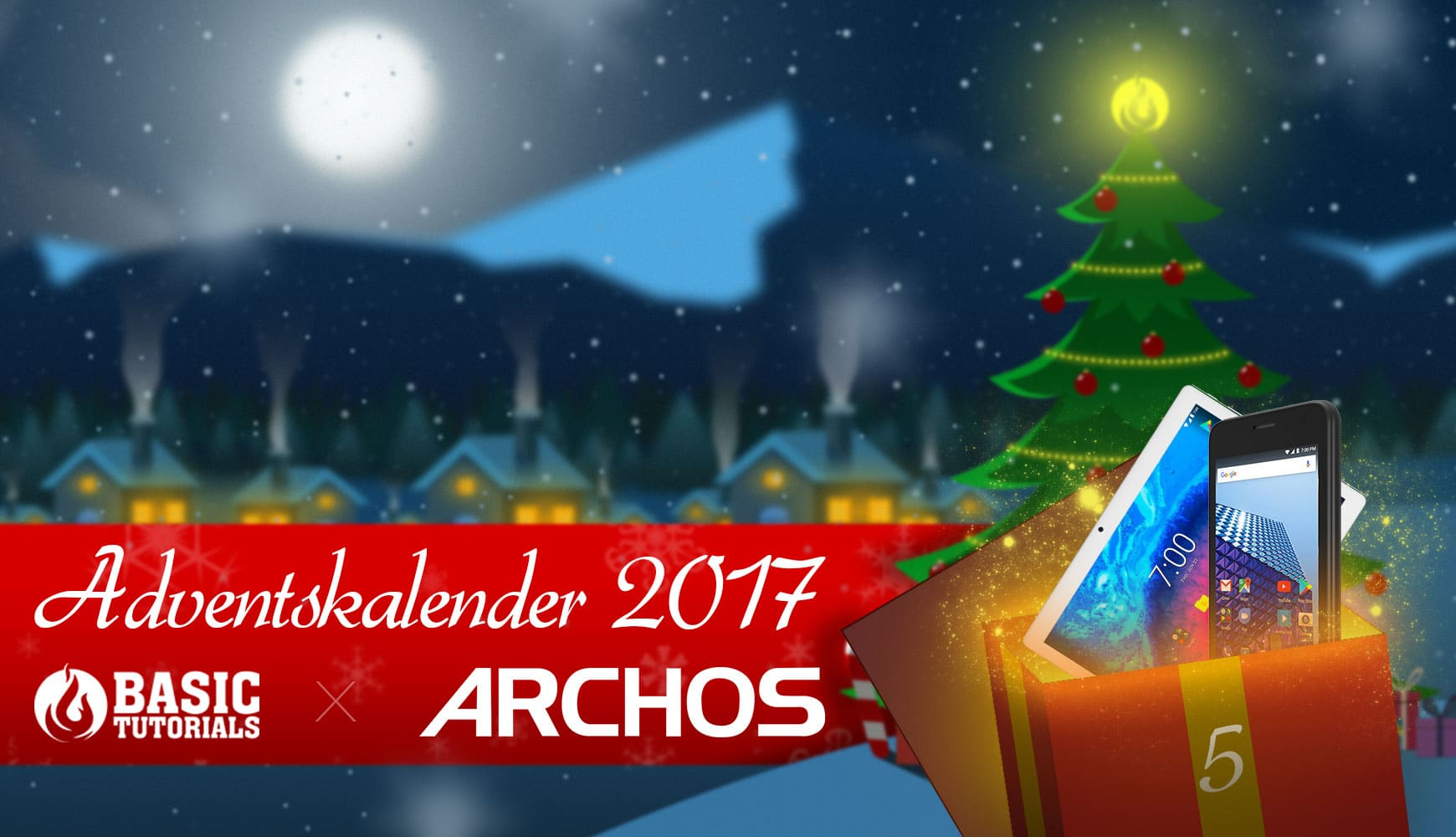 Photo of Adventskalender Türchen 5: ARCHOS Core 101 3G & Access 45 4G