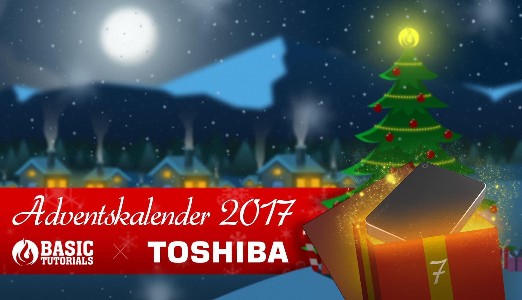 Bild von Adventskalender Türchen 7: Toshiba Canvio Premium 3 TB