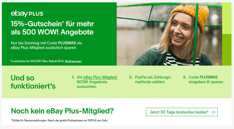 Photo of eBay Plus WOW! Wochenende als Vorbote für die eBay Cyber Week