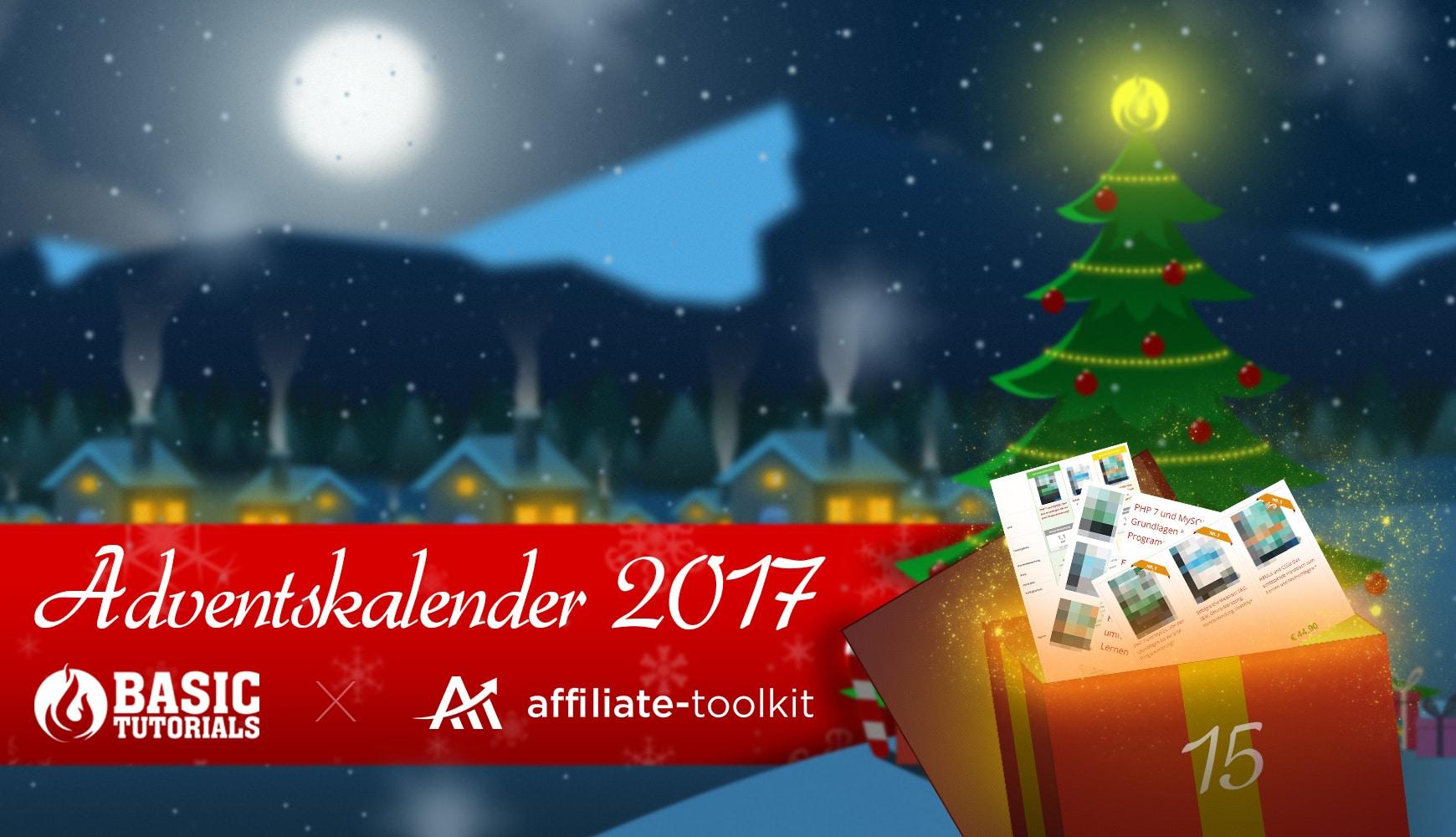 Photo of Adventskalender Türchen 15: Affiliate Toolkit