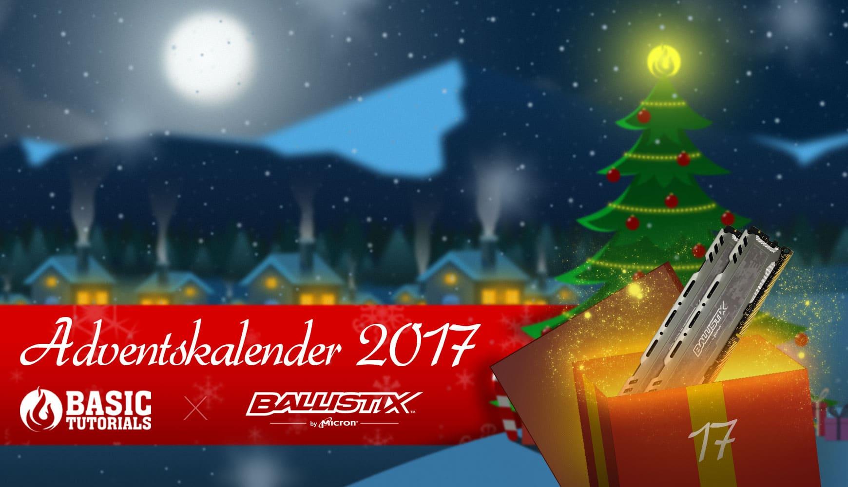 Bild von Adventskalender Türchen 17: 32 GB Ballistix Sport LT Arbeitsspeicher