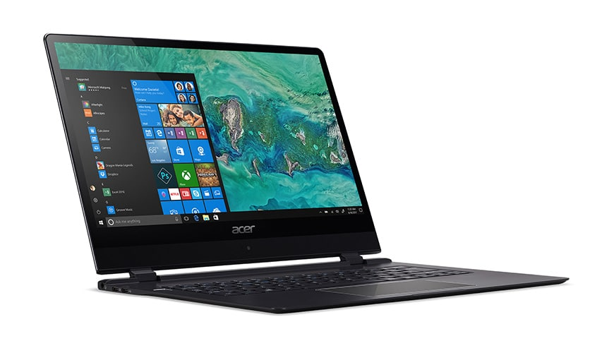 Photo of 9 Millimeter dünnes Notebook: Acer Swift 7 endlich verfügbar