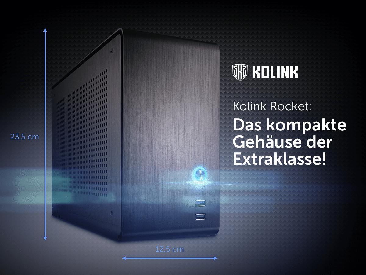 Photo of Kolink Rocket: Kompaktes Gehäuse mit 9,6 Litern Volumen
