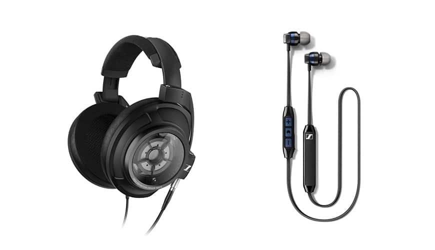 Bild von CES 2018: Sennheiser mit neuem Kopfhörer & kabellosem In-Ear-Headset