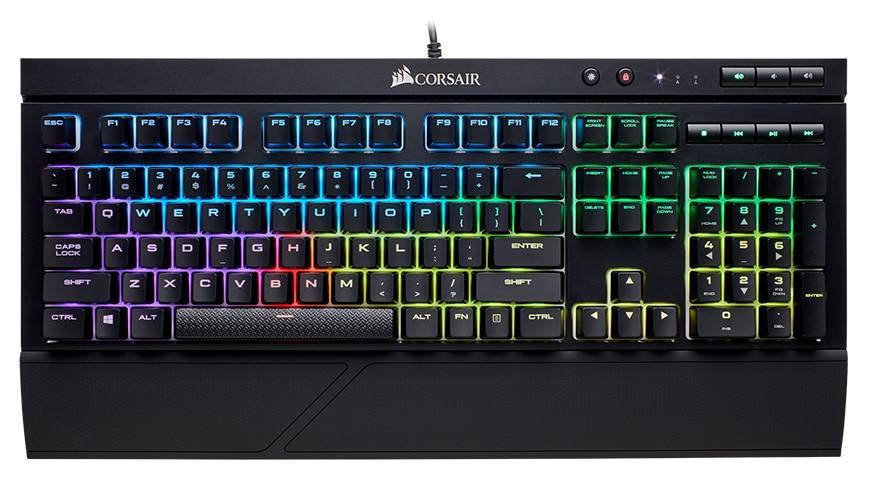 Bild von Corsair K68 RGB: Wasserdichte Tastatur nun mit RGB-Beleuchtung
