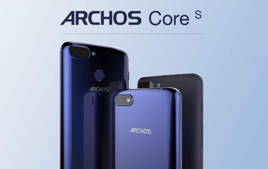 Bild von ARCHOS Core 55S, 57S und 60S: Drei neue Einsteiger-Smartphones zum MWC 2018