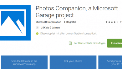 Bild von Fotos von Android und iOS einfach per Microsoft App an Windows übertragen