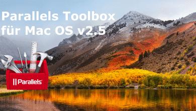 Bild von Parallels Toolbox v2.5 für Mac OS im Test