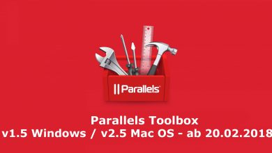 Bild von Neue Versionen von Parallels Toolbox