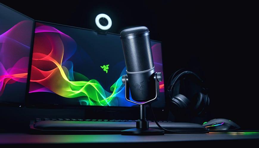 Bild von Seiren Elite: Neues Streamer-Mikrofon von Razer
