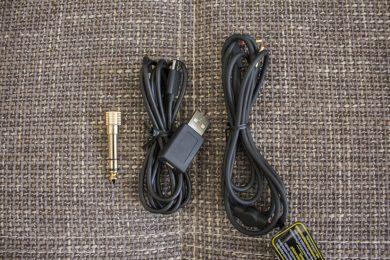 Mitgelieferte Kabel & Adapter