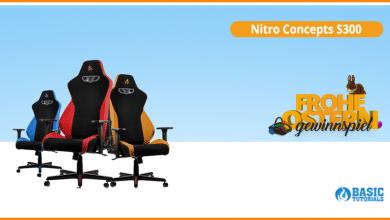 Photo of Maximaler Komfort: Nitro Concepts S300 Gaming-Stuhl im Ostergewinnspiel