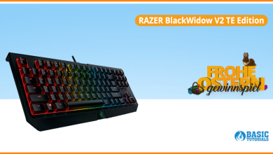 Photo of Gaming-Tastatur im Ostergewinnspiel: Die Razer BlackWidow V2 TE Edition