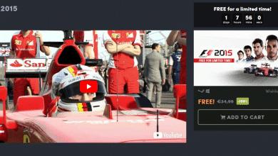 Bild von F1 2015 bei Humble Bundle kostenlos zu haben