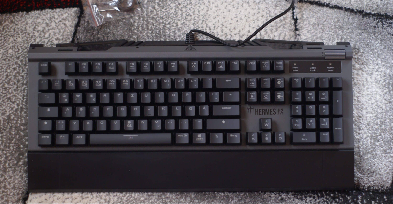 die gamdias hermes p2 rgb gaming tastatur im test. Black Bedroom Furniture Sets. Home Design Ideas
