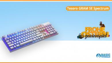 Photo of Gewinne die Tesoro GRAM SE Spectrum – eine einzigartige Gaming-Tastatur!