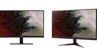 Bild von Neue Gaming-Monitore von Acer: Nitro VG0 und RG0 präsentiert