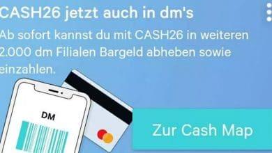 Photo of N26: Bargeld mit Cash26 nun auch bei dm-Drogeriemärkten