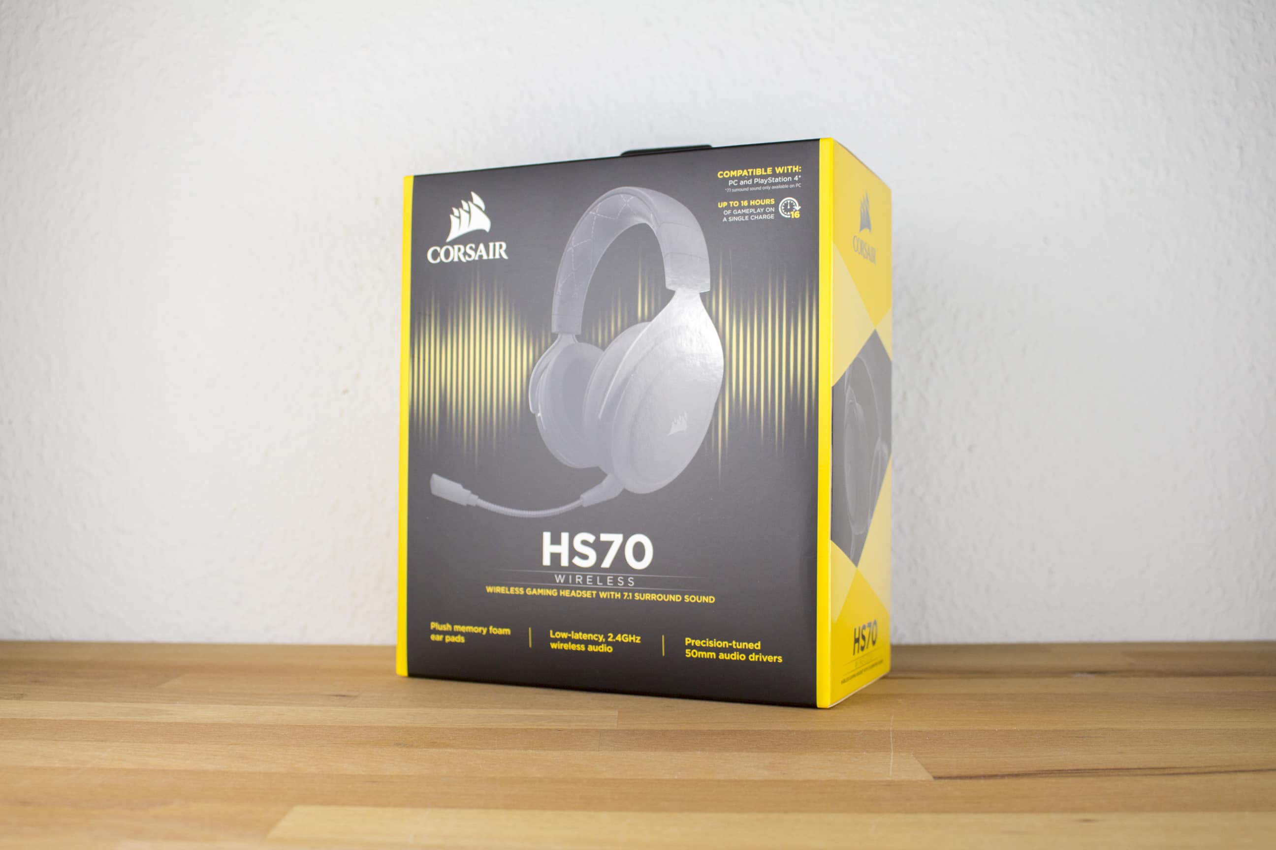 Corsair Hs70 Wireless Gaming Headset For Pc Ps4 Reviewed