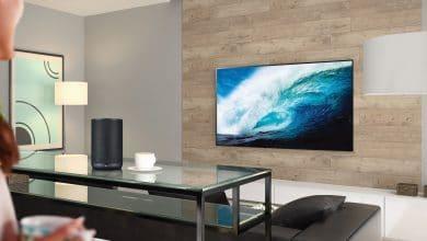 Bild von LGs smarter WK7-Lautsprecher bietet Meridian-Sound für klanglichen Hochgenuss