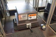Abschirmungsbox zum Testen der Funkfrequenzen