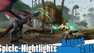 Photo of Spiele-Highlights im August 2018