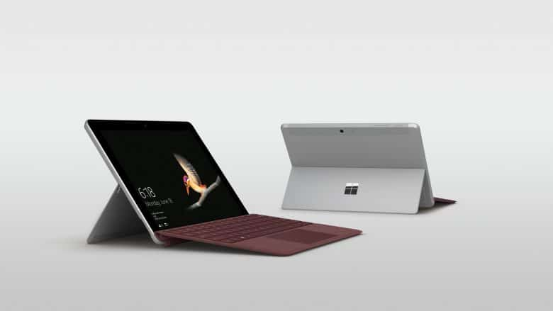 microsoft surface go 10 zoll tablet ab 28 august erh ltlich. Black Bedroom Furniture Sets. Home Design Ideas