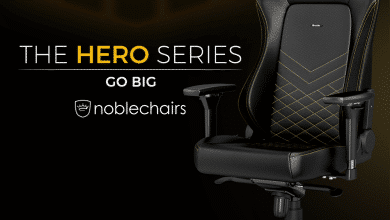 "Photo of noblechairs stellt die neue HERO-Serie vor – ""Go Big"""
