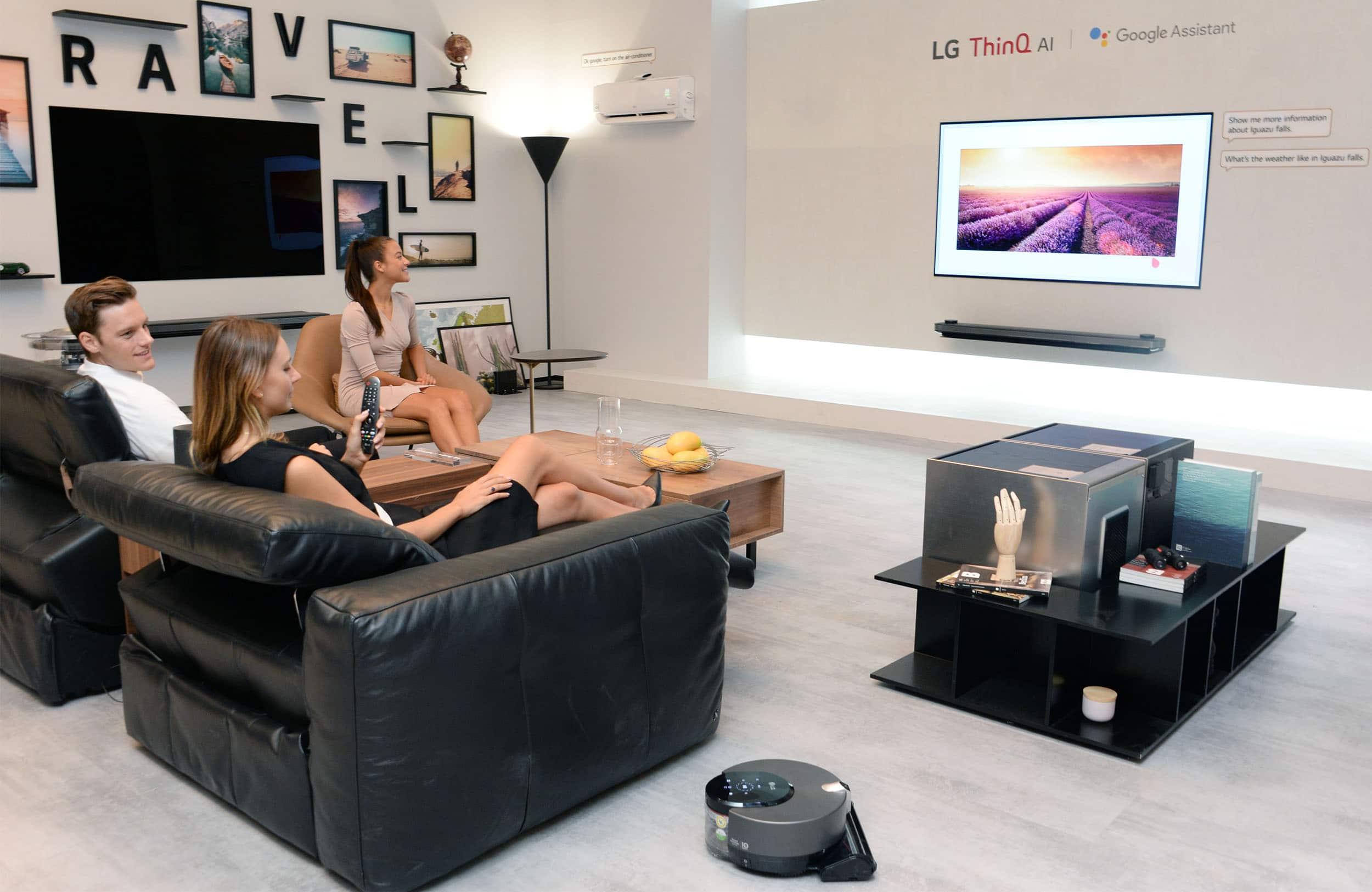 Kleiner Lg Kühlschrank : Ifa lg zeigt produkte mit künstlicher intelligenz