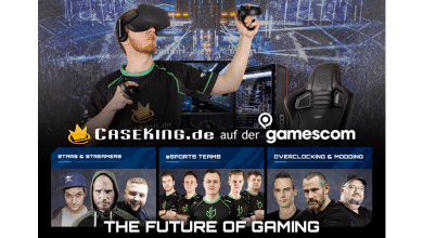 Photo of Caseking @ gamescom 2018 – The Future Of Gaming auf über 450 m²!