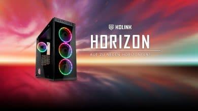 Bild von Kolink Horizon: Günstiger Midi-Tower mit adressierbaren RGB-Lüftern