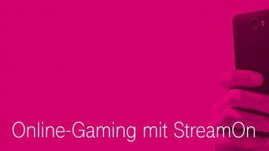 Bild von Stream on Gaming erlaubt unbegrenztes mobiles Spielen im Telekom Netz