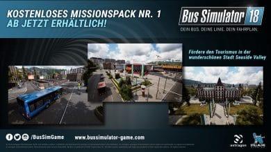 Bild von Bus Simulator 18: Kostenloses Update bringt neue Missionen und Zusatzinhalte ins Spiel!