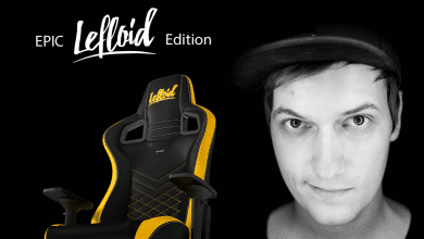 Photo of noblechairs EPIC Gaming-Stuhl: Ab sofort als LeFloid-Edition