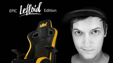 Bild von noblechairs EPIC Gaming-Stuhl: Ab sofort als LeFloid-Edition