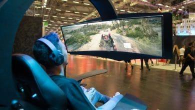 Bild von Samsung zeigt neuen Curved Gaming Monitor CJG50 auf der gamescom 2018