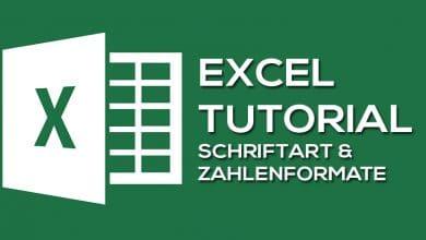 Photo of Zellformatierungen – Schriftart und Zahlenformate in Microsoft Excel
