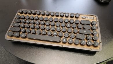 Photo of AZIO Retro Classic: Tastatur im Schreibmaschinenlook