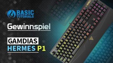 Photo of Gewinnspiel: Sichere dir die Gamdias Hermes P1 RGB Gaming-Tastatur!