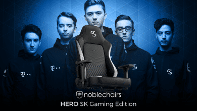 Photo of Der noblechairs HERO als SK Gaming Edition